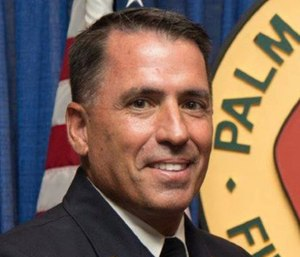 Former Palm Beach County Fire Chief Jeffrey Collins said officials
