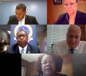 The National Law Enforcement Museum recently hosted a webinar on anti-bias programs for police officers. Pictured are some of the panelists. (Photo/National Law Enforcement Memorial and Museum via YouTube)