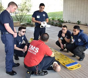 As a paramedic, saving lives is not a possibility, it's the standard. You just have to go through the challenge of meeting it. (Photo/Crafton Hills College)