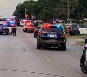 Police investigate a shooting at Village Creek Park that left five injured.