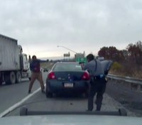 Video shows shootout that nearly killed Pa. trooper