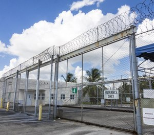 The Palm Beach County Stockade in Palm Beach, Fla. The county may discontinue its work-release program in favor of in-house arrests. (Photo/TNS)