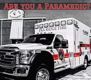 The Pea Ridge Fire Department is taking to social media to recruit new paramedics for its ambulance service.