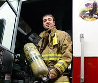 Air Force Lt. volunteers as Mont. firefighter, EMT