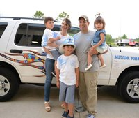 Firefighter raises autism awareness after son's diagnosis