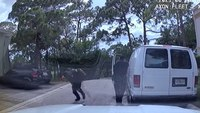 Video: Fla. officer narrowly misses gunshot to the head during stop
