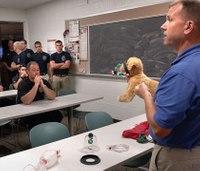 Animal oxygen masks donated to Ill. EMS