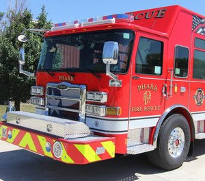 Firefighters in Pharr, Texas, will see a wage increase of 13% over three years' time.