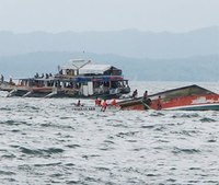 36 dead, retired firefighter saves 3 in Philippines ferry capsize