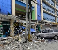 6 killed, 126 hurt as strong quake strikes southern Philippines