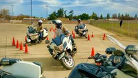 Photo of the Week: Motorcycle training