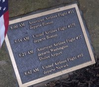 NJ company to replace plaques stolen from Sept. 11 memorial for free