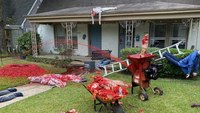 Cops keep getting called to Texas man's Halloween display, but he just adds more gore