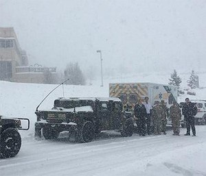 PennDOT first received the request Tuesday morning. (Photo/Pennsylvania State Police)