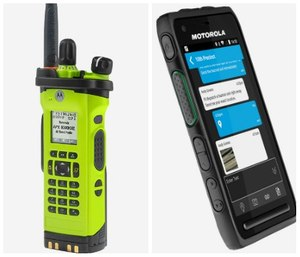 Motorola Solution's new products aim to improve interoperability communications by providing accurate and reliable tools for first responders.(Photos/Motorola Solutions)