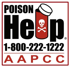 Make sure the national poison help phone number 1-800-222-1222, is programmed into your smartphone