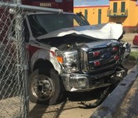 Ark. ambulance crashes into pole, injures 3
