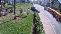 Video: Teen leads police pursuit, sends pedestrians running