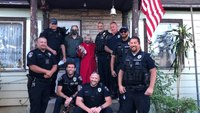 Cops replace American flag woman used to fend off attacker