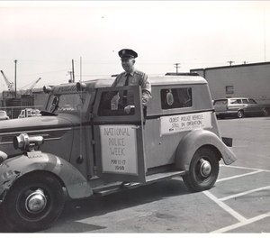 Photos like this snapshot during Minneapolis' 1969 National Police Week celebration, are displayed as part of the Minneapolis Police Museum's virtual exhibits. (Photo/MPM)