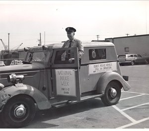 Photos like this snapshot during Minneapolis' 1969 National Police Week celebration, are displayed as part of the Minneapolis Police Museum's virtual exhibits.