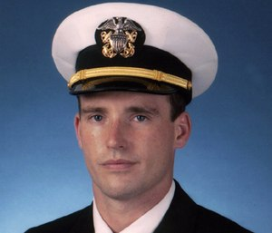 North Patchogue Fire Department held a special ceremony to dedicate a fire truck to Navy SEAL Lt. Michael Murphy, who was killed in the line of duty in 2005.