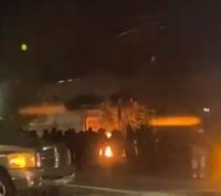 Portland rioters set fire at police building, 14 arrested