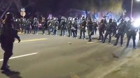Portland PD declares riot as crowd protests Daunte Wright OIS