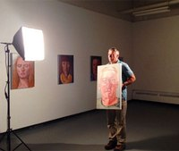 Portraits of medics with PTSD featured in art show