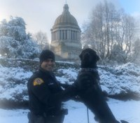 Photo of the Week: Wintery Washington patrol