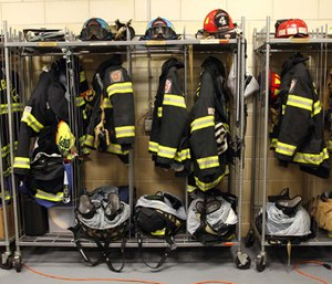 The question is whether turnout gear is one of the contributing PFOA exposure sources for firefighters.