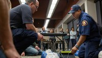 As police and firefighter numbers fall, officials urge disaster prep