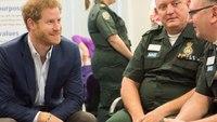 Prince Harry visits London Ambulance Service, talks mental health