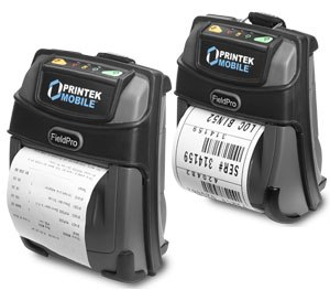 The compact printers allow fast printing from mobile devices. (Photo courtesy of PrintekMobile)