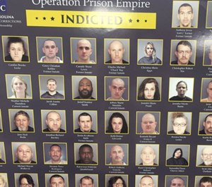 Officials say a drug trafficking investigation that led to the indictment of 54 individuals would not have been necessary if inmates in state prisons did not have contraband cell phones. (Photo/South Carolina Department of Corrections)