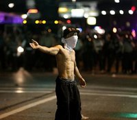 Police, protesters collide again in Mo.