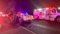 2 deputies seriously injured after crashing into each other