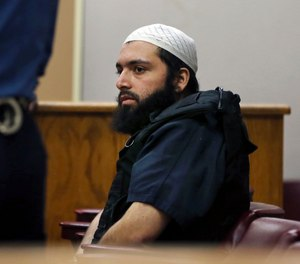 Ahmad Khan Rahimi was convicted of multiple counts of attempted murder and assault stemming from a shootout with police three years ago. (Photo/AP)