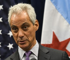 "Mayor Rahm Emanuel said he wanted to add ""at least"" five more ambulances in an effort to reduce response times."
