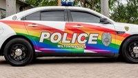 Fla.'s LGBT capital has a new rainbow police cruiser