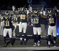 Rams, police differ on Ferguson protest apology