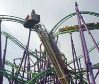 Firefighters pluck passengers from stuck roller coaster