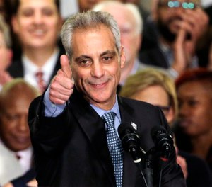 Pictured is Mayor Rahm Emanuel. (AP Photo/Nam Y. Huh, File)