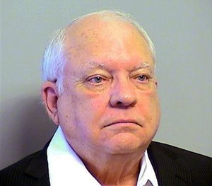 This Tuesday, April 14, 2015 photo provided by the Tulsa County, Oklahoma, Sheriff's Office shows Robert Bates.