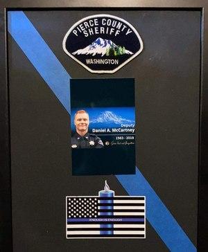 Noel's tribute toPierce County Sheriff's Deputy Daniel McCartney.