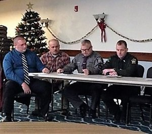 The Winter Recreation Preparedness Panel at the North Country Emergency Preparedness Conference included discussion about how to respond to snowmobile crashes. (Photo/Lewis County General Hospital)