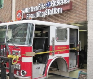A marketing firm is helping 20 fire and EMS departments in three different states combat the volunteer shortage with ideas such as recruitment centers. (Photo/Montgomery County Fire-Rescue Assoc.)