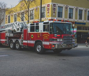 """I wonder about the day when firefighters will look back and say, """"Hey, remember those silly LED lights they used to use?"""""""