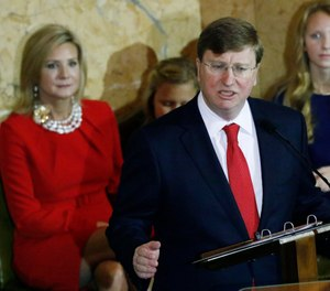 Miss. Gov. Tate Reeves is expected to announce the formation of a group that will conduct a nationwide search for a new MDOC commissioner. (Photo/AP)