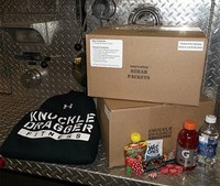 Firefighter develops rehab packets for on-scene nutrition